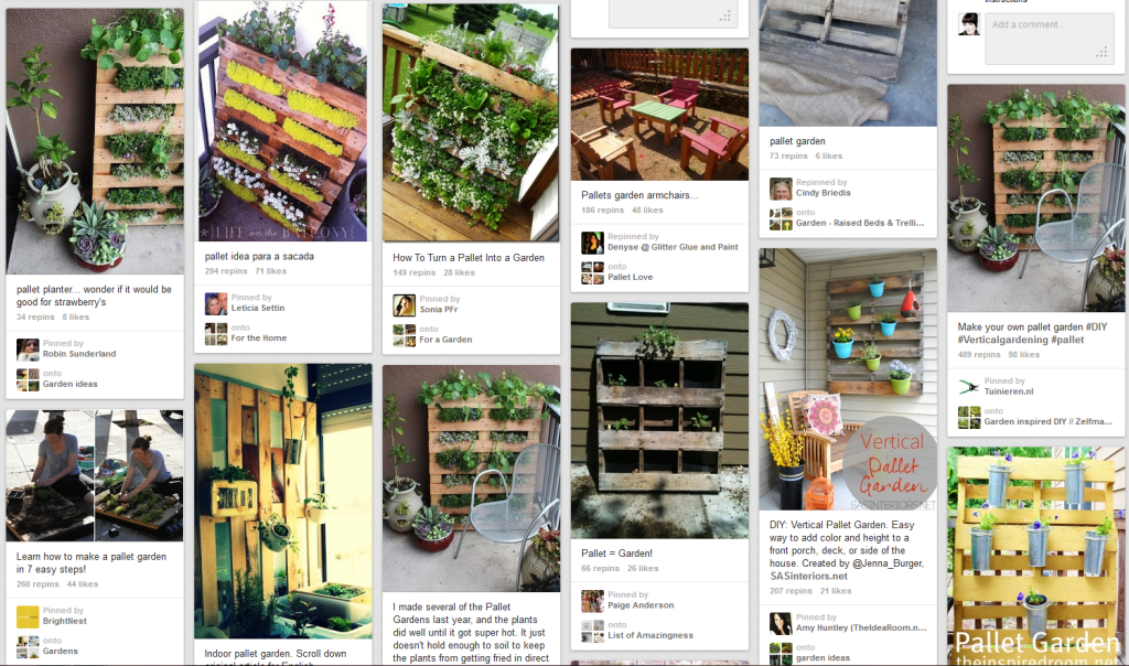 Recycle reuse and refresh enter our recycled pallet - Reusing pallets in the garden ...